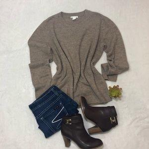 H&M Basic camel sweater size M